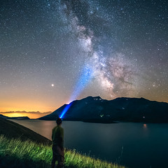 P8110788_DxOm (erripollo) Tags: stars milkyway lake longexposure mountain summer olympus em5markii laowa m43 moncenisio