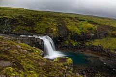Cascade, Islande (yvon.kerdavid) Tags: islande cascade oxipass rivière paysage