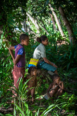 Family in the Jungle 3209 (Ursula in Aus - Travelling) Tags: jimclinephototour milnebay png papuanewguinea tawali