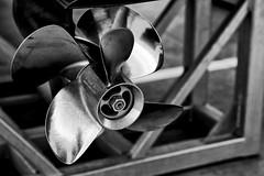 propeller (boriskombol) Tags: bw bnw bn blackandwhite blancoynegro biancoenero nb noiretblanc cb crnobijelo sw schwarzweis monochrome mono monotone monocromatico monocromo canon eos ef24105l outside outdoor propeller hélice acero acier steel stahl