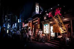 神戸東門界隈 2018 #6ーHigashimon, Kobe city, neighborhood 2018 #6 (kurumaebi) Tags: kobe 神戸市 神戸 三宮 sannomiya higasshimon 東門 路地 street alley 街 fujifilm 富士フイルム xt20 night 夜