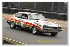 15 CUP_0704 (ladythorpe2) Tags: oulton park gold cup2018 historic touring car challenge with tony dron trophy 15 john spiers ford capri 3 litre