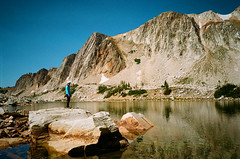 Medicine Bow National Forest on Film (seansdi77) Tags: medicinebownationalforest wyoming lake mountains film ishootfilm