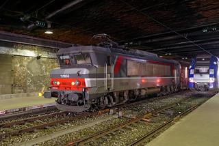 [FR-SNCF] BB 15035 en pousse d'une rame Haute-Normandie @Paris Saint-Lazare 25/02/2017 DSC_9687_DxO