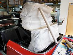 Chevrolet Corvair Monza Verdeck 1962 - 1969 Vorher (best_of_ck-cabrio) Tags: chevrolet corvair monza verdeckbezug verdeck cabrio montage verdeckmontage car ckcabrio