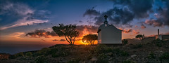 Ermita San Isidro (Widescreen Version) (Jörg Bergmann) Tags: 20mmf17 alajeró calvario ermita ermitasanisidro fortaleza islascanarias lagomera miradordetagaragunche montañadelcalvario panasonic20mmf17 atardecer canarias canaryislands church clouds coast españa gf7 gomera hiking landscape lumix lumix20mm m43 mft micro43 microfourthirds mountain nature ocean panasonic panorama panoramic puestadesol religion sea seascape senderismo sky spain stitched sun sunday sunset travel trees vacation μ43 chapel 20mm pancake lumixg20f17 panasonicdmcgf7 crepúsculo sonnenuntergang 2018 spring april panorámica widescreen contraluz backlight primavera frühling wallpaper