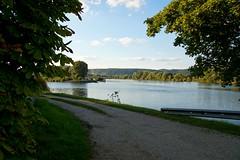 Der Herbst naht (johannroehrle) Tags: natur nature natura niebo donau danube donarea dunaj automne autumn autunno a58 sony herbst himmel wolken wasser water river kreuzhof