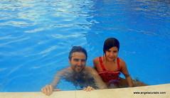 Dad and me. (Angela Curado) Tags: angelacurado manelcurado happyness pool summer2018 love water