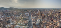 Panoramica su Bologna (matteo9191) Tags: bologna italia italy city tramonto
