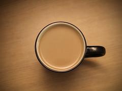 Simple Coffee (Alex Vargo) Tags: coffee mug calm wood canon t6 indoor simple