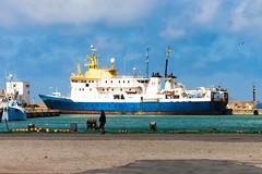 Hirtshals, DK (Kai Rennert) Tags: ship hirtshals hafen harbour port dk danmark denmark dänemark