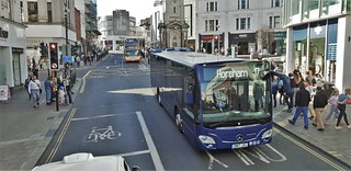Mercedes benz Citaro Bus Demonstrator, Brighton.