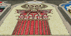Tapis de fleurs de la délégation italienne (CORMA) Tags: 2018 belgique belgium bruxelles brussels tapisdefleurs flowercarpet europe monumentsofunescoinflowers italie