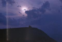 all fears unjustified (m_travels) Tags: sunset landscape lightleak sky dusk nature плёнка argentique filmphotography expiredfilm 35mm film storm provence france southoffrance mountains purple mood dream