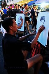 "Chiang Mai Markets.  (ตลาดเชียงใหม่) (ol'pete) Tags: chiangmaimarkets evening street nightmarkets thailand people shoppers shopping traders arts crafts fahion jewlert bricabrac canon ""powershot"" ""sx260hs"" ประเทศไทย เชียงใหม่ เมืองไทย ถนน ตลาด earthasiua"