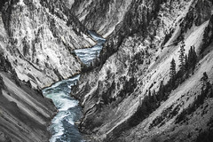 Paint the Mountain (WA_416) Tags: ifttt 500px valley river mountain range torrent black white falls yellowstone national park