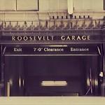 Los Angeles California  - The Hollywood Roosevelt Hotel -  Vintage Garage Door thumbnail