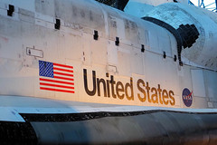 Space Shuttle Discovery 3 (PDX Bailey) Tags: aviation air space smithsonian museum udvarhazy center steven shuttle discovery virginia national hangar nasa united states available light olympus em1 spaceshuttle