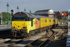 Testing 2 3 (Jonathan Malpass) Tags: class67 generalmotors gm alstom 67023 67027 shrewsbury shropshire shrewsburyrailways 1q55 testtrain colas train railway rail