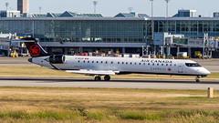 Bombardier CRJ-705 C-GOJZ Air Canada Express (William Musculus) Tags: vancouver international airport spotting yvr cyvr richmond britishcolumbia canada ca cgojz air express bombardier crj705 cl6002d15 jazz qk jza crj900 canadair regional jet ac aca william musculus