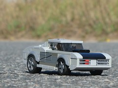 Mercury Cougar (1/5) (captain_joe) Tags: toy spielzeug 365toyproject lego minifigure minifig moc car auto mercury cougar