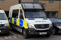 Cumbria Police Mercedes Sprinter Public Order Van (PFB-999) Tags: cumbria police constabulary mercedes sprinter public order van vehicle unit pov psu support lightbar grilles fendoffs leds px14cuv