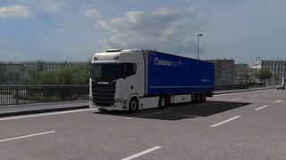 Scania S580 + Krone Profi Liner V4