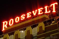 Roosevelt Hotel (matthucke) Tags: roosevelthotel hoteltheodore seattle hotel 1930 downtownseattle neonsign neon skyline seattleskyline