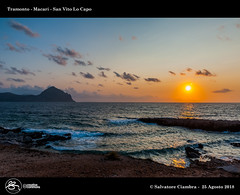 1070_D7D9119_bis_Tramonto_El_Bahira (Vater_fotografo) Tags: sicilia salvatoreciambra sanvitolocapo sanvito spiaggia seascape sabbia sole vaterfotografo ciambra cielo ciambrasalvatore mare tramonto macari nikonclubit nikon nuvole natura nwn nuvola ngc nube ncg nubi sunset