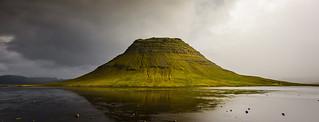 Kirkjufell - A Short Break in the Storm