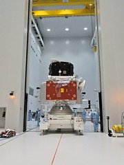 BepiColombo ministack on the move (europeanspaceagency) Tags: bepicolombo guyane kourou mto mmo bepi mpo mtm mercury solarsystem jaxa aerospace 宇宙航空研究開発機構 isas 水星探査計画bepicolombo 水星磁気圏探査機mmo 水星探査 esa europeanspaceagency space universe cosmos spacescience science spacetechnology tech technology