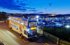 In the Fading Light (Better Living Through Chemistry37) Tags: route18x stagecoach stagecoachdevon stagecoachsouthwest transport transportation vehicles vehicle publictransport psv 18302 wa05mgv alx400 dennis dennistrident