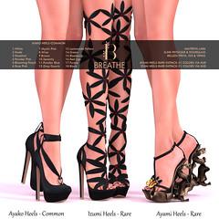 [BREATHE]-Ayako_Ayami_Izumi ([Breathe]) Tags: breathe secondlife mesh heels slink maitreya belleza thearcadegatcha gacha