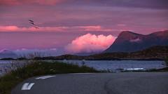 Final destination (Fr@nk ) Tags: runde island norway romsdal topf25 topf50 topf100 topf150 clouds sky himmel ciel nuages beauty sea seascape ocean mountain islands hill walk hiking europ12