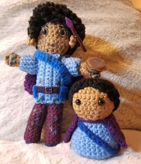 Adair dolls (merigreenleaf) Tags: crochet crocheted doll plushie plushies amigurumi handmade