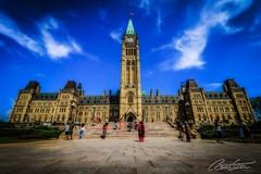 Parliament of Canada (corineouellet) Tags: bluesky clouds angle city cityscape amazingshot architecturephoto architecture buildings building parliament parlement ottawa canada canoncanada canon canonshot canonphoto wideangle