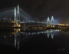 Puente de Obukhovsky (Luis R.C.) Tags: sanpersburgo puentes nocturnas paisajes viajes nikon d610
