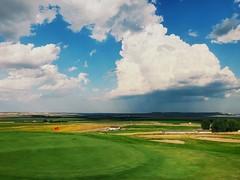 16th Green (kyleknox21) Tags: thelinksofnorthdakota lake lightning thunder supercell storm iphone hole 16 18 golf usa northdakota