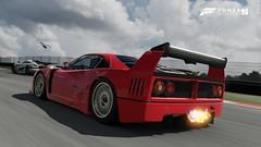 Ferrari F40 Competizione (Nick72 Italy) Tags: forzamotorsport forza motorsport fm7 xbox one x 4k