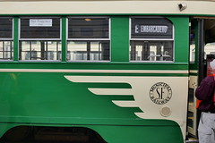 PCC 1948 Livery (en tee gee) Tags: streetcar sanfrancisco trolley livery sign