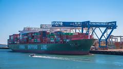 Xin Mei Zhou (NoVa Truck & Transport Photos) Tags: xin mei zhou port boston conley container terminal ship imo 9337925