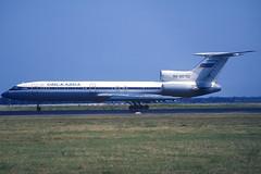 Omskavia TU-154M RA-85752 BCN 27/06/1998 (jordi757) Tags: airplanes avions nikon f90x kodachrome kodachrome64 bcn lebl barcelona elprat tupolev tu154 omskavia ra85752