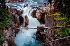 Sunwapta falls,  Jasper National Park, Canada (YL168) Tags: waterfalls sunwaptafalls jaspernationalpark canada sonyalpha emount