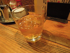 Denki Bran again (kevincrumbs) Tags: tokyo 東京 taito 台東 taitoku 台東区 ueno 上野 daitouryou 大統領 もつ焼き大統領 alcohol denkibran 電気ブラン