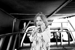 The tears of war (Giulio Magnifico) Tags: 28mm iraq refugees mosul arabic kurdistan camp girl deepsoul desperate eye yazidi littlegirl kurdish isis blackandwhite leicaq fear middleeast civilwar cry tears leica child