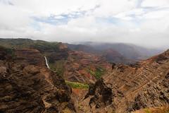 Waipo'o Falls (xythian) Tags: hi kauai