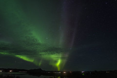 Northern Lights (alme 27) Tags: auroraborealis europe iceland myvatn northernlights sky pentax k1ii sigmalens