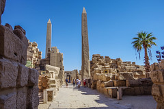Luxor temple  - Egypt (Airton Morassi) Tags: templo egito luxor archaeology arqueologia ruinas