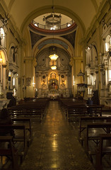 Interior de la Iglesia de Santa Ana (Luis Fer Barriales) Tags: iglesia santa ana church église igreja centro histórico historical centre historique barrios altos lima peru