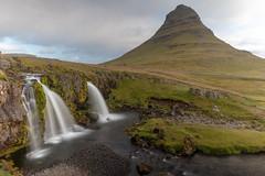 Kirkjufellsfoss and Kirkjufell (mattsj1984) Tags: iceland mountains landscapes kirkjufellsfoss waterfalls kirkjufell